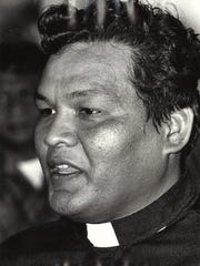 Father Raymond Techaira on Aug. 17, 1981.