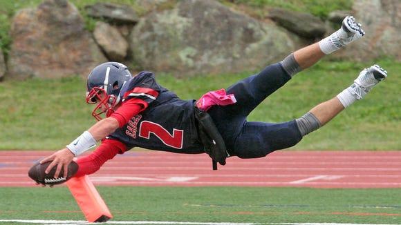 Eastchester quarterback John Arcidiacono capped a 67-yard