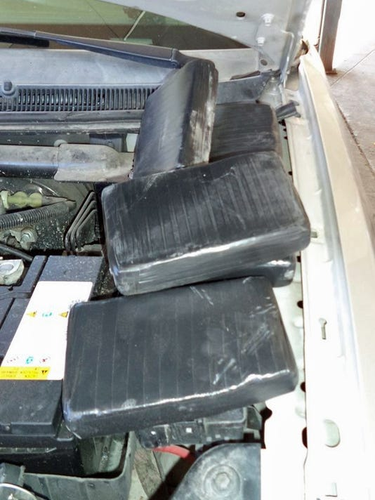 U.S Customs and Border Protection seize $757K in drugs this weekend