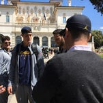 First look: Michigan football arrives in Italy, takes in sights