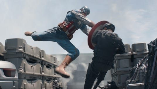 """Captain America: The Winter Soldier"" was No. 1 at the box office this weekend."