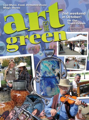 Art on the Green is a three-day festival in French Lick.