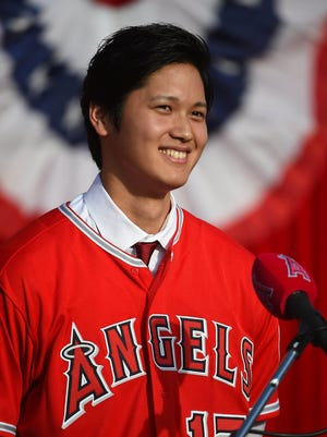 Shohei Ohtani is expected to pitch and bat for the Angels this season.