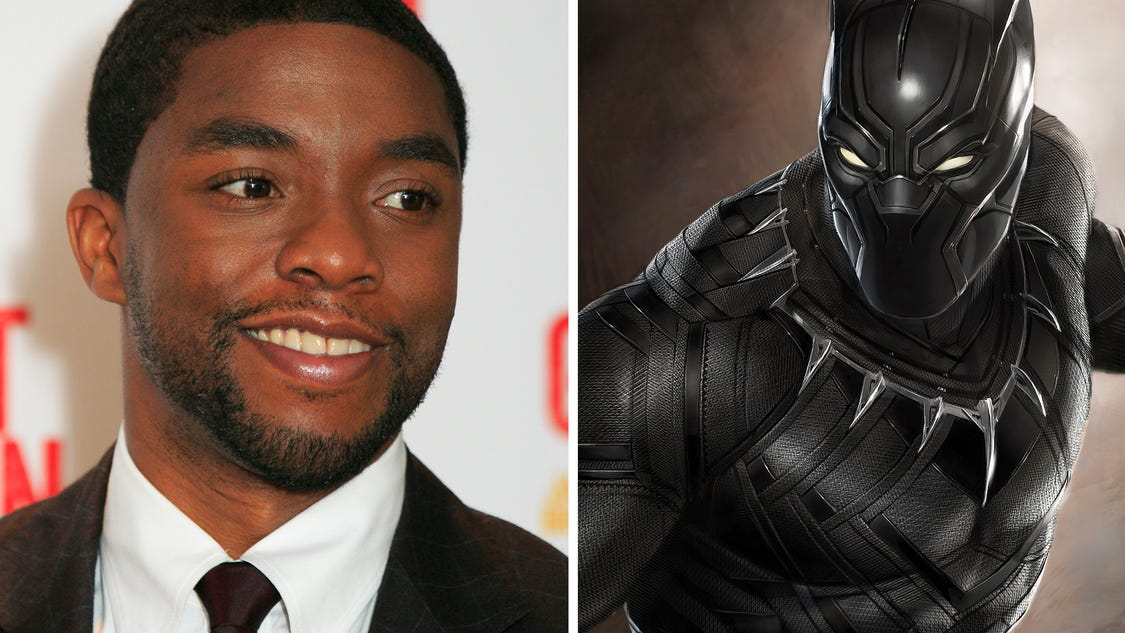 Chadwick boseman on black panther movie marvel