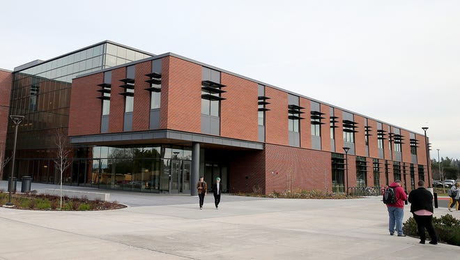 The new College Instruction Center at Olympic College's Bremerton campus officially opened on Tuesday, the first day of winter quarter.