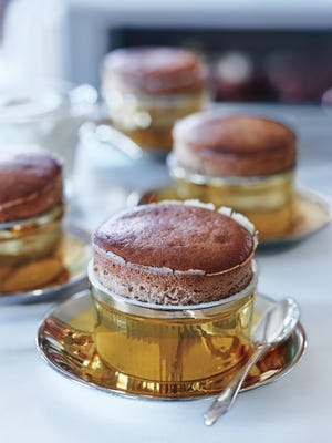 Soufflés are often made with dark chocolate — but I love using excellent-quality milk chocolate instead. It gives the dessert a creaminess and flavor that are almost reminiscent of hot chocolate.