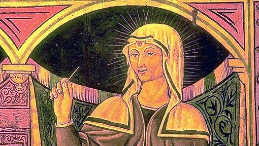 A relic of St. Rita of Cascia was stolen from a Muncie church.