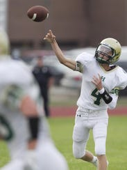 Howell quarterback Brett Chaperon completed three passes,