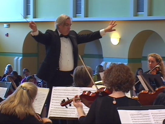 The Burlington Civic Symphony, led by music director