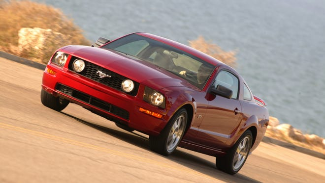 """NHTSA now list the 2006 Ford Mustang on its recall VIN site for its Takata airbag :""""customer satisfaction campaign."""""""