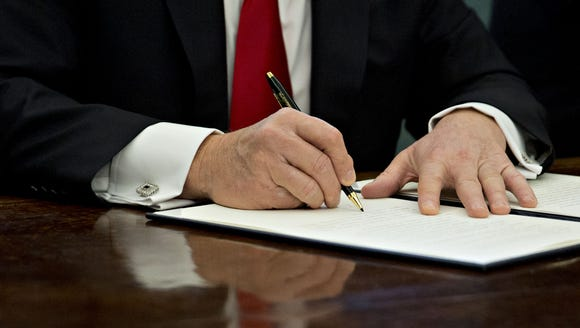 President Trump's executive actions: The complete list so far