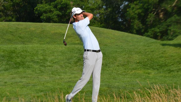 Winged Foot assistant pro tees off in the PGA Championship