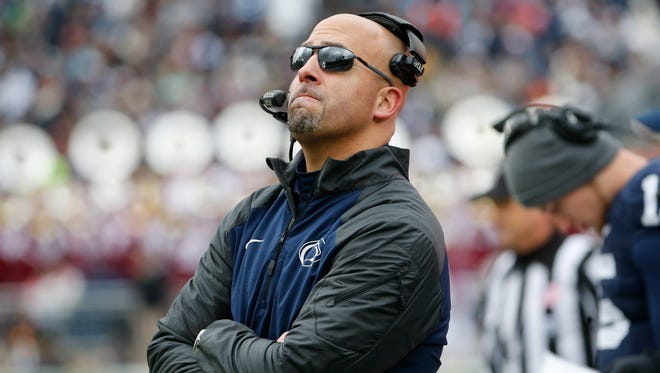 Penn State head coach James Franklin l and the Nittany Lions will go to a bowl game.
