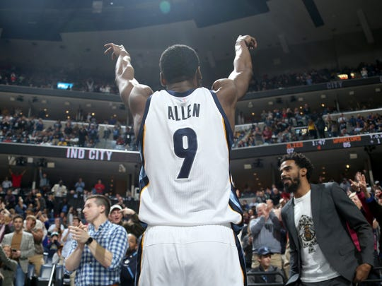 "Nobody embodied the Grizzlies' ""Grit and Grind"" era quite like Tony Allen."