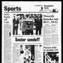 Front sports page March, 2005