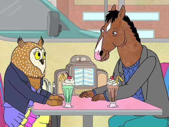 In Season 2 of Netflix's 'BoJack Horseman,' Kudrow voices a technologically challenged owl named Wanda, who starts dating BoJack (Will Arnett).