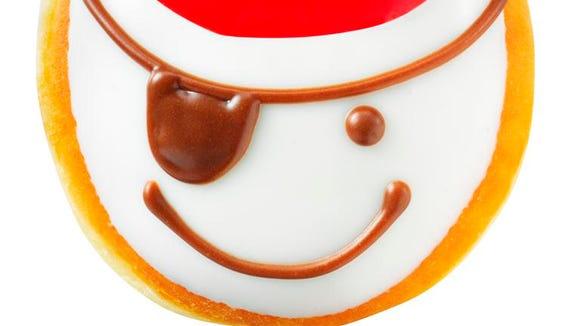 Want a free Krispy Kreme? Start rolling your AHRRRRS now.