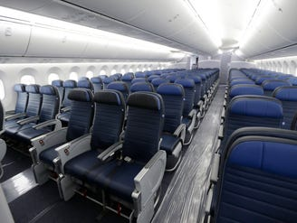 Congress may require more legroom on planes, rules on service animals and involuntary bumping