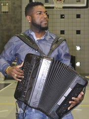 Zydeco musician Lil Nate is among the instructors playing