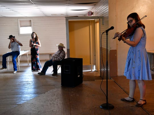 Candi Ice performs Saturday at  the Old Timers Fiddler's Contest, which is part of the Texas Cowboy Reunion in Stamford. Ice won first place in the Adult Division, and in the Overall category. She teaches music at Madison Middle School in Abilene.