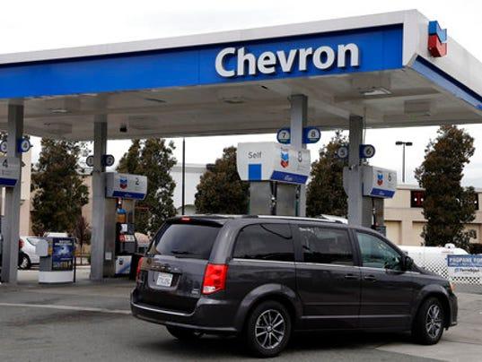 Chevron Gas