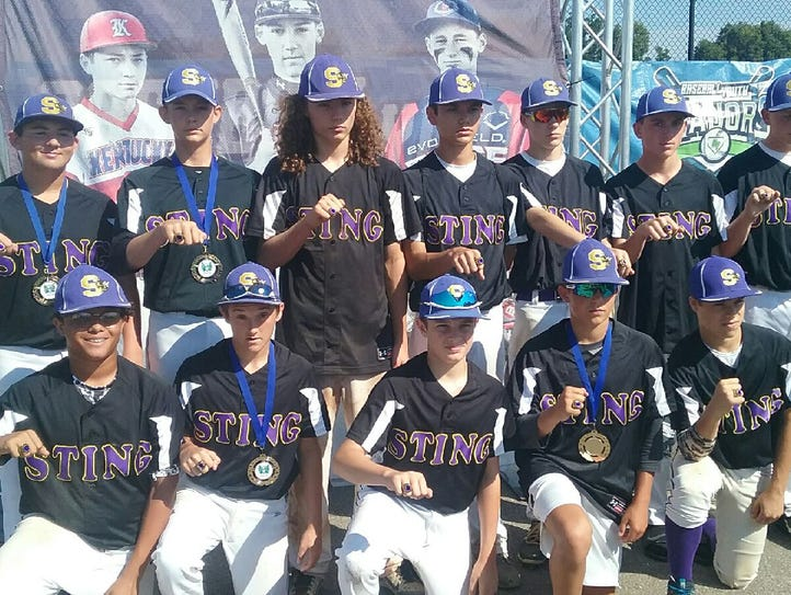 The Virginia Sting 14U baseball team has won two championships