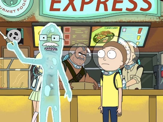 Adult Swim's 'Rick and Morty' was one of fall's top TV picks for on-demand viewers, and the top pick in Denver.