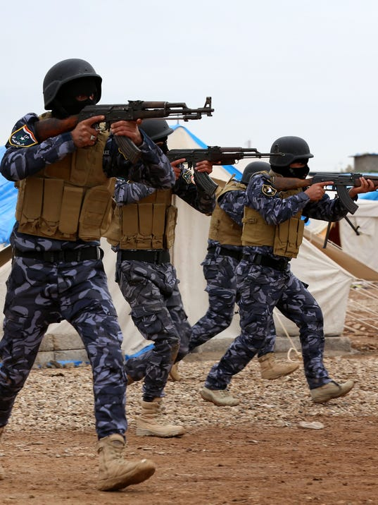 IRAQ-CONFLICT-ARMY-TRAINING