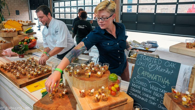 The Live Love Local event at Eastern Market will feature food tasting from area restaurants.
