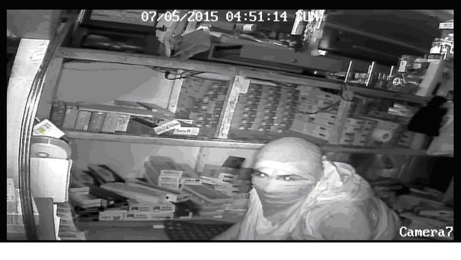 Surveillance captured images of suspects in North Fort Myers burglaries.