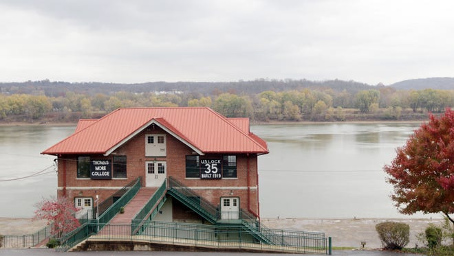 The Thomas More College Field Biology Field Station on the Ohio River in California, Kentucky, across the river from New Richmond.