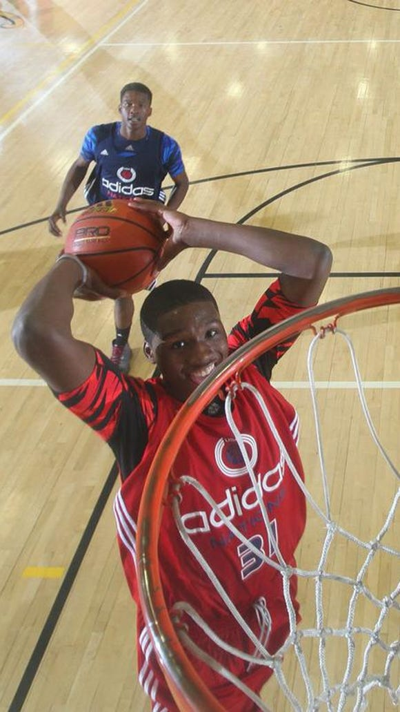 Carlton Bragg, a 6-9 junior from Cleveland, is the rated the No. 9 junior by 247Sports.com.