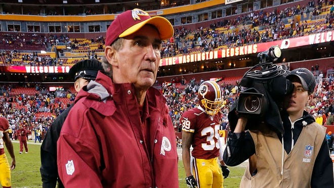 Mike Shanahan may be walking away from the Washington Redskins after Sunday's season finale against the New York Giants.