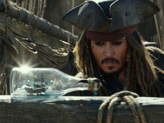 Jack Sparrow (Johnny Depp) returns for a fifth adventure