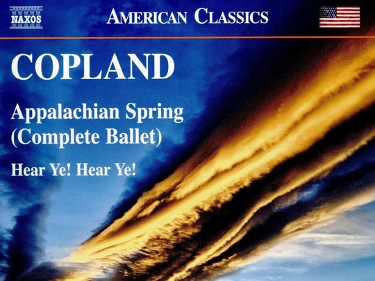 Detroit Symphony Orchestra's 2016 recording of music by Aaron Copland.