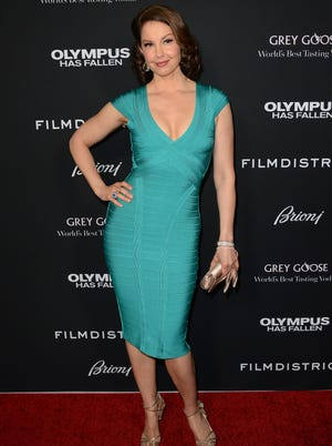Ashley Judd at the premiere of 'Olympus Has Fallen' on March 18, 2013 in Los Angeles.