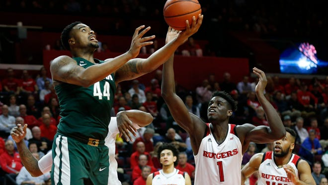 Michigan State big man Nick Ward played just one second-half minute at Rutgers on Tuesday night.