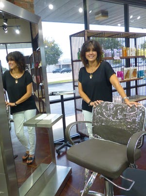 The salon chair is where relationships are made, says long-time Alexandria salon owner, Danette Cruz.