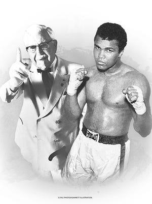 Colonel Sanders and Muhammad Ali
