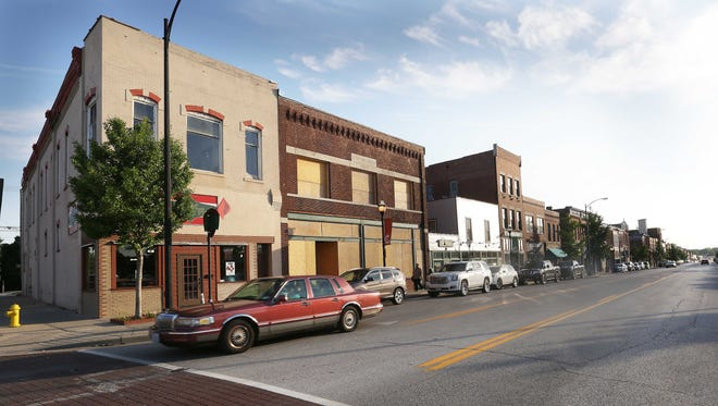 Commercial Street in Springfield is home to a wide range of shops and restaurants.