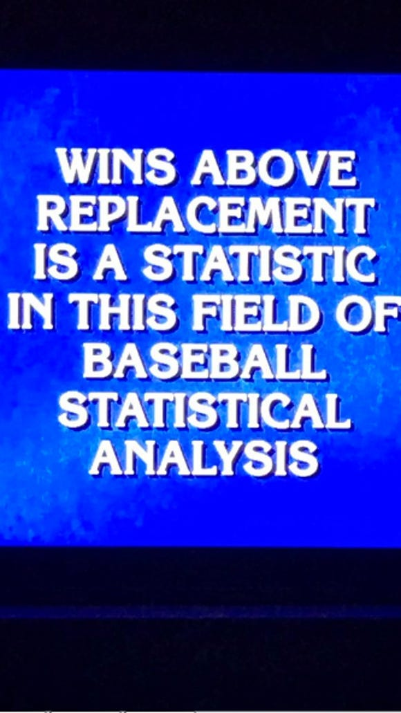Hardcore baseball fans should be able to sweep this 'Jeopardy' category with ease