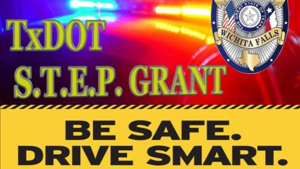 The WFPD released it's quarterly statistics of traffic violations discovered during overtime hours paid for by a grant from the Texas Department of Transportation.