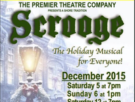 Scrooge - coming soon to the Paramount Theatre.