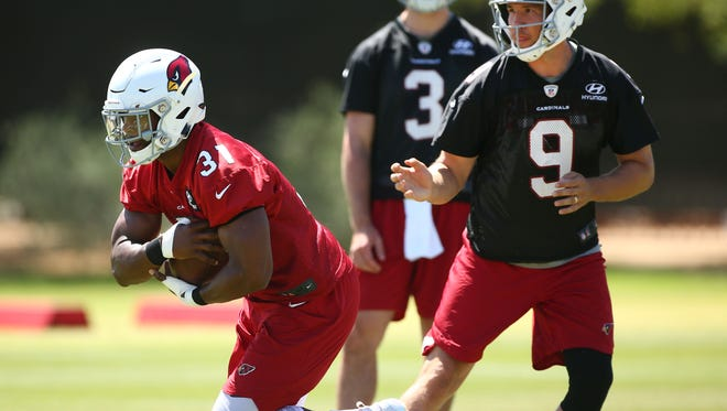 David Johnson is not participating in the Cardinals' mandatory minicamp this week.