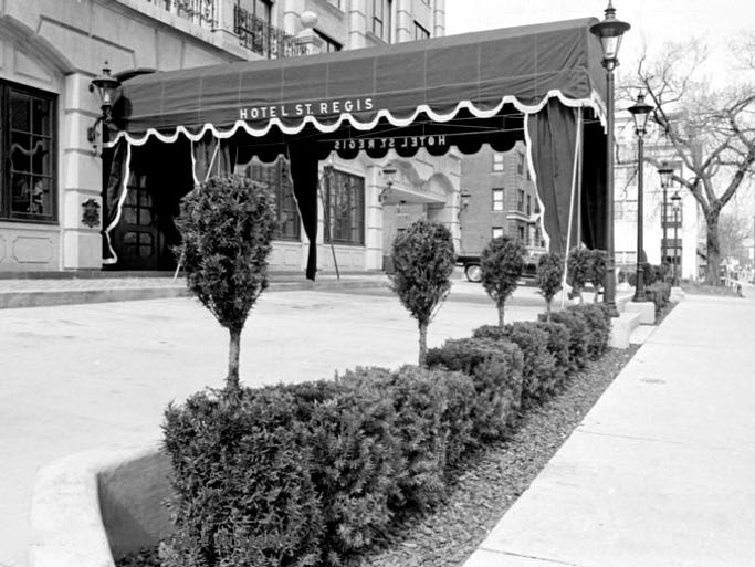 St Regis Hotel Detroit Michigan