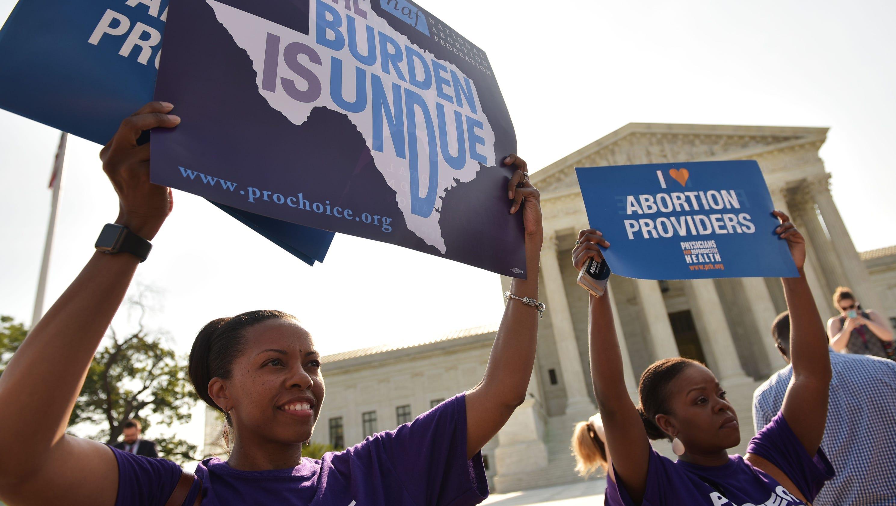 Supreme Court strikes down abortion restrictions