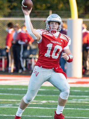 Quarterback Cameron Blair will try to help Sandy Valley's offense bounce back this week against Claymont.