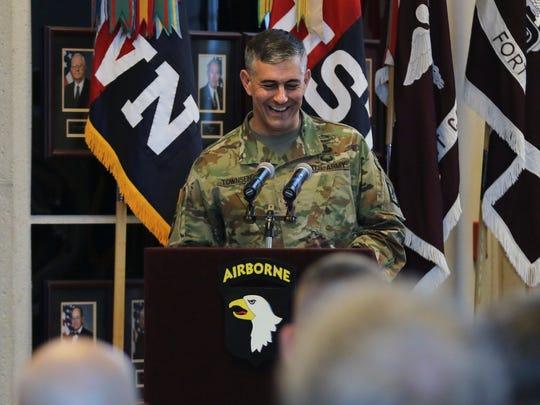 Lt. Gen. Stephen Townsend, commanding general of the