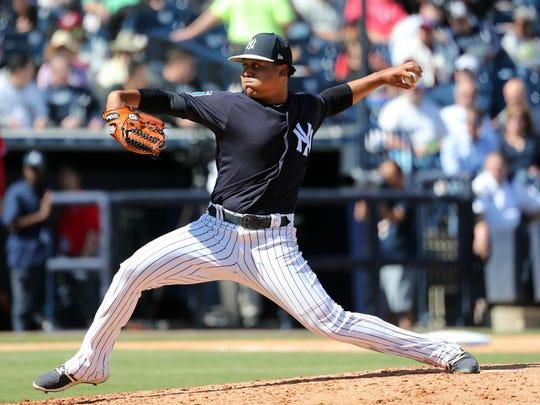 USP MLB: SPRING TRAINING-PHILADELPHIA PHILLIES AT S BBO NYY PHI USA FL