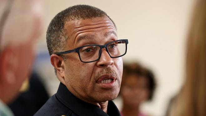 Detroit Police Chief James Craig said an officer is under criminal investigation after being caught on video beating a naked woman in a hospital.
